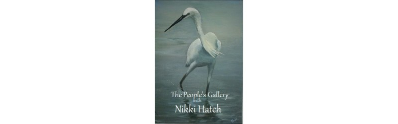 'Little Egret' by Nikki Hatch