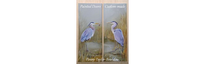 Painted Doors by Penny Taylor-Beardow